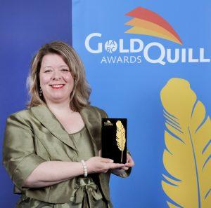 Jennifer Arnott IABC Gold Quill Award of Excellence